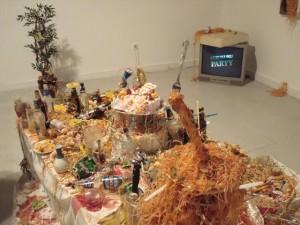 Kolektyvas Chim Pom. Kuru Kuru vakarėlis. Instaliacija, 2009