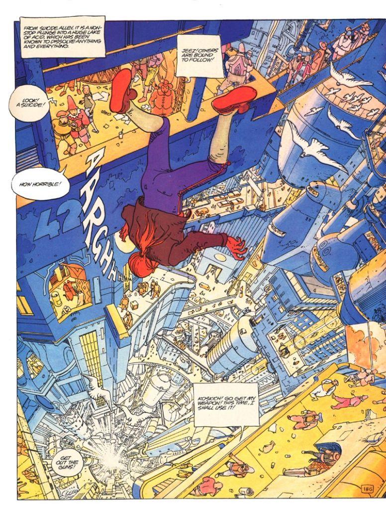 Jodorowsky & Moebius - The Incal 004