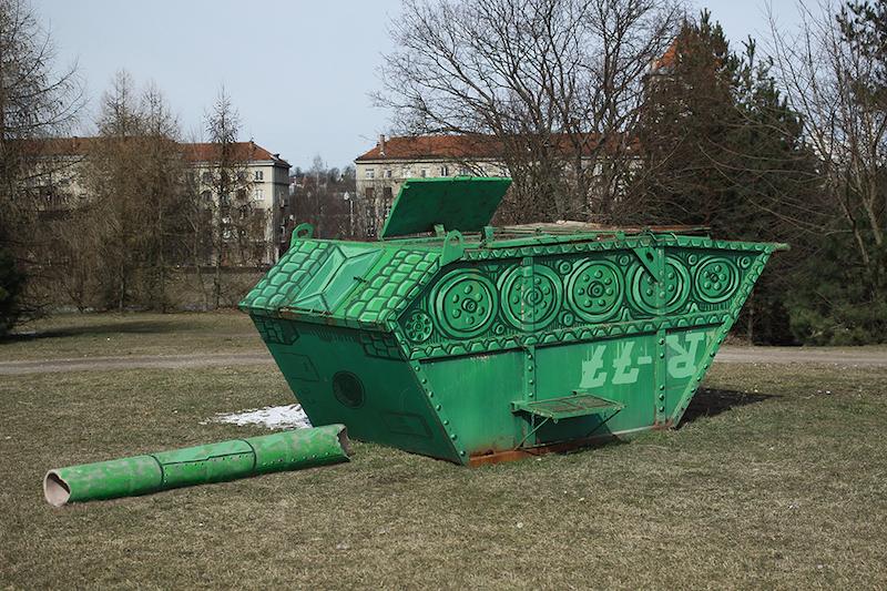7. Tank_Morfai, foto manipuliacija, 2015