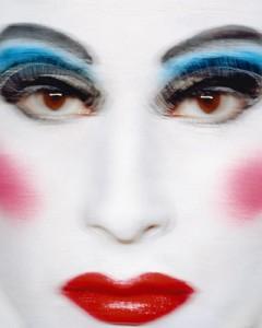 Aurora Reinhard. Eye-dolize(autoportretas). 2006, spalvota fotografija, 125 x 100