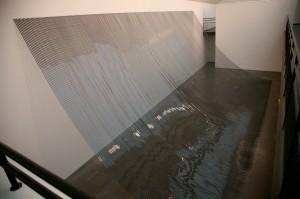 Žilvinas Kempinas. Link. 2008-2009, vaizdo juosta, 1220 X 480 cm, Lundo Kunsthalė, Švedija