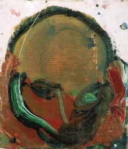Iš ciklo Paribio portretai. 2005, drobė, aliejus, 30x30