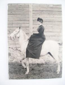 Mariana Veriovkina Vyžuonėlių dvare XIX a. pab.