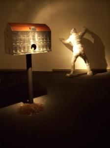 Kipras Dubauskas. Atminties stebėjimas, instaliacija, 2008