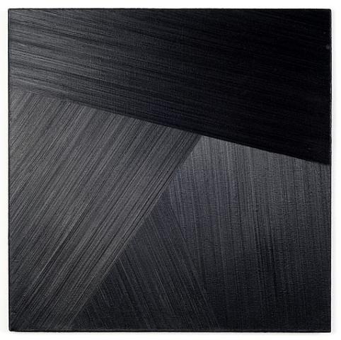 Rafal Bujnowski. Lamp Black  (4), 2008, aliejus, drobe, 62x62 cm