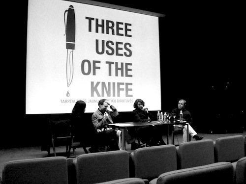 three uses of the knife