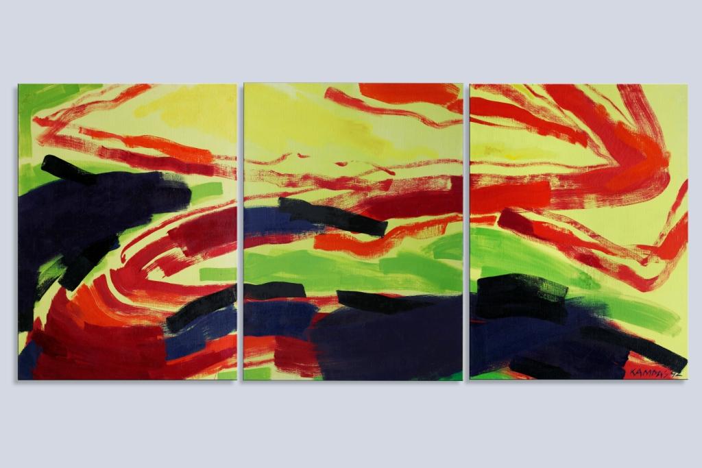 R. Jankauskas-Kampas-Dekonstrukcija-1992-Drb., al., 129x285