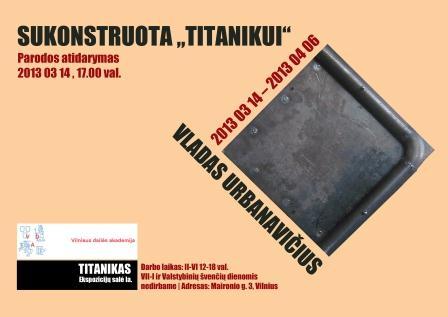 Urbanavicius Sukonstruota Titanikui