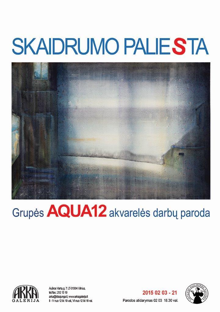 Akvarelė plakatas www