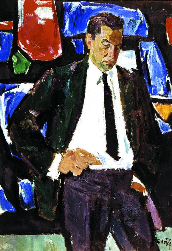 Dailininko K.Morkuno portretas