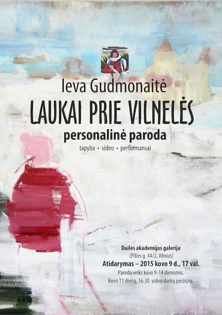 Ievos Gudmonaites plakatas 2015