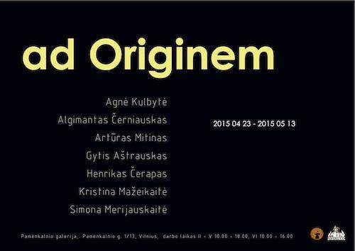 ad Originem copy