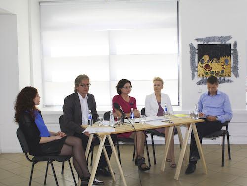 Akimirka is ArtVilnius spaudos konferencijos II
