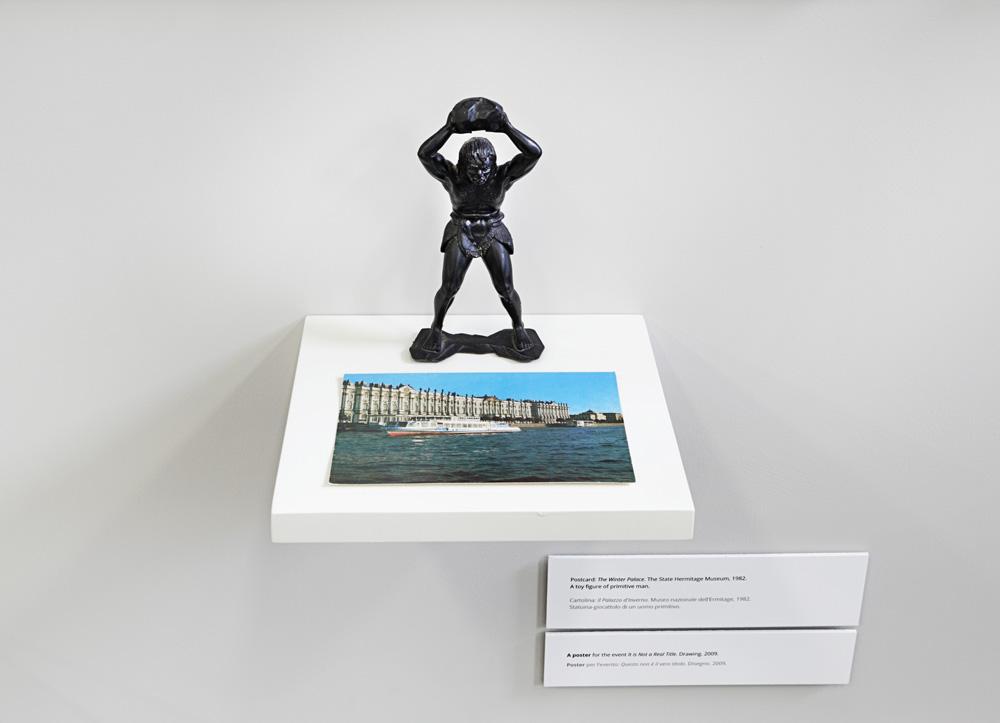 Ermitazo muziejaus atvirukas ir primityvaus zmogaus zaisline skulptura
