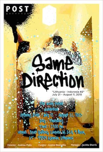 same direction